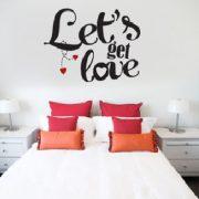 vinil decorativo amor